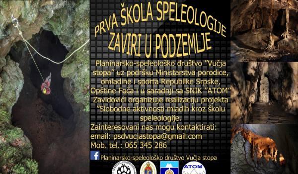 Foča: Škola spelologije
