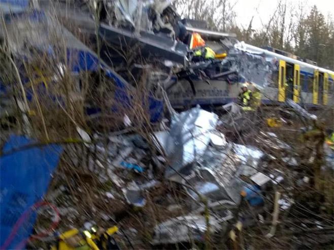 Berlin: Najmanje pet povrijeđenih u sudaru dva putnička voza