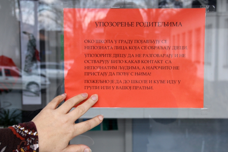 Roditelji u panici: Osnovna škola u Banjaluci upozorava na sumnjive osobe oko škola