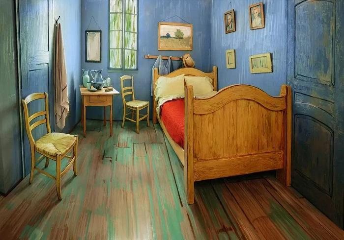 Napravili pravu spavaću sobu po Van Gogovoj slici