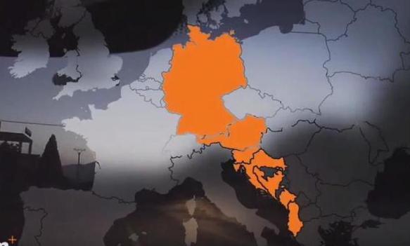 Njemačka TV prikazala BiH bez Republike Srpske