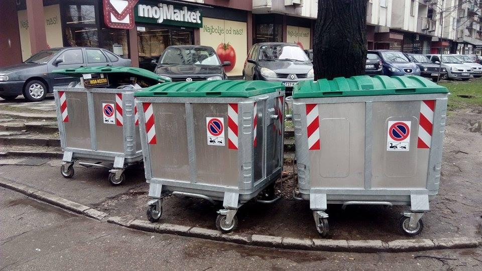 Novi kontejneri postavljeni u gradu, savjesno odlažite smeće!