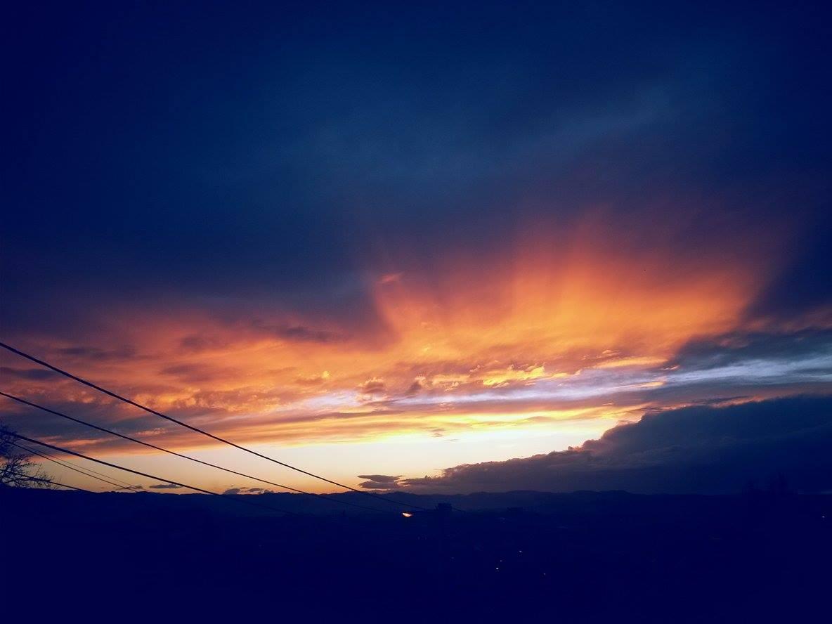 Čaroban zalazak sunca u Banjaluci (FOTO)