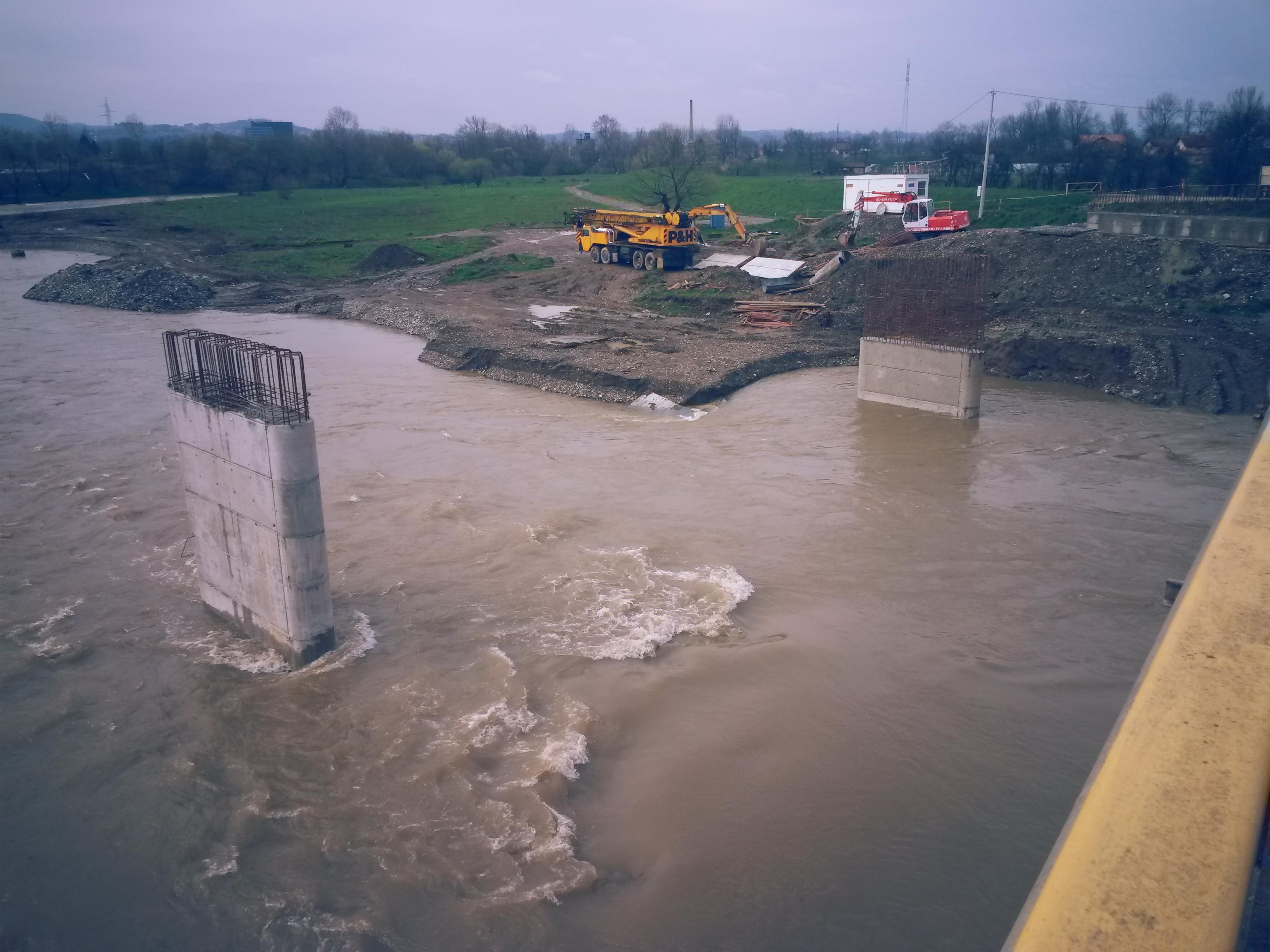 Hej mostovi na Vrbanji: Dokle se stiglo (FOTO)