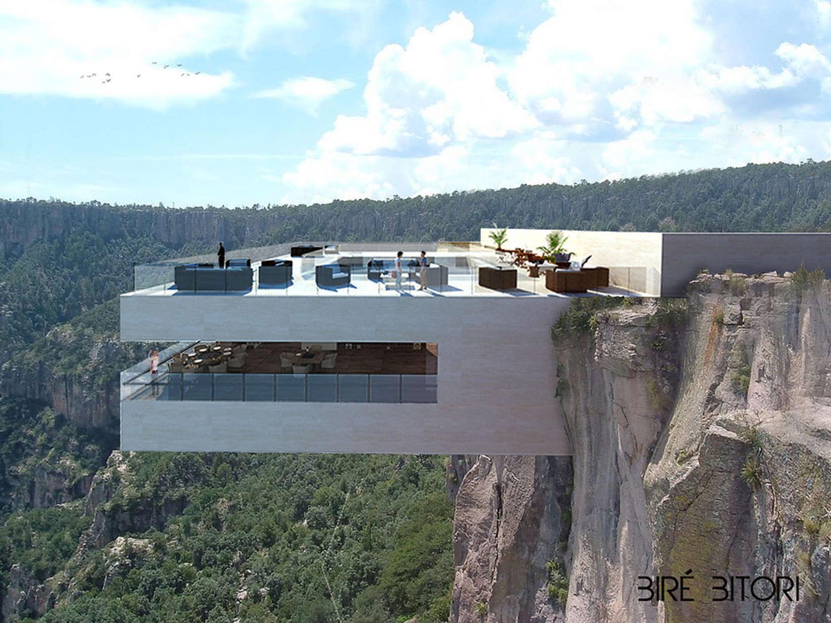 """Da li biste večerali u restoranu koji """"visi"""" stotine metara iznad kanjona Cooper?"""