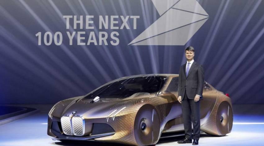 BMW predstavio novi koncept futurističnog robotizovanog automobila