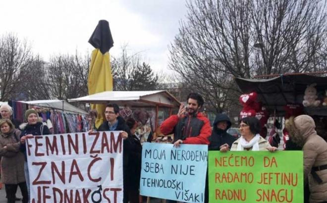 Banja Luka: 8. marta zakazan marš za prava žena