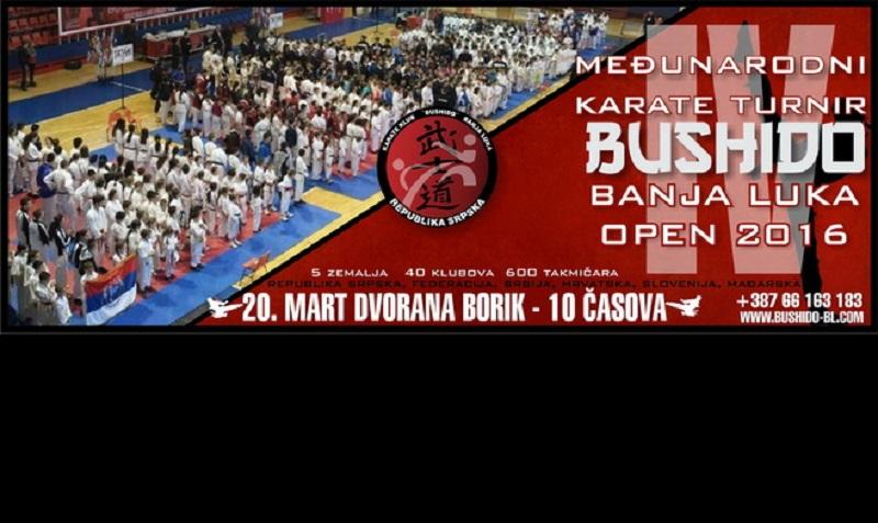 U nedjelju karate turnir u Boriku