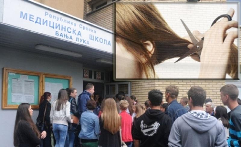 Banja Luka: Profesorica iz Medicinske ošišala cijeli razred