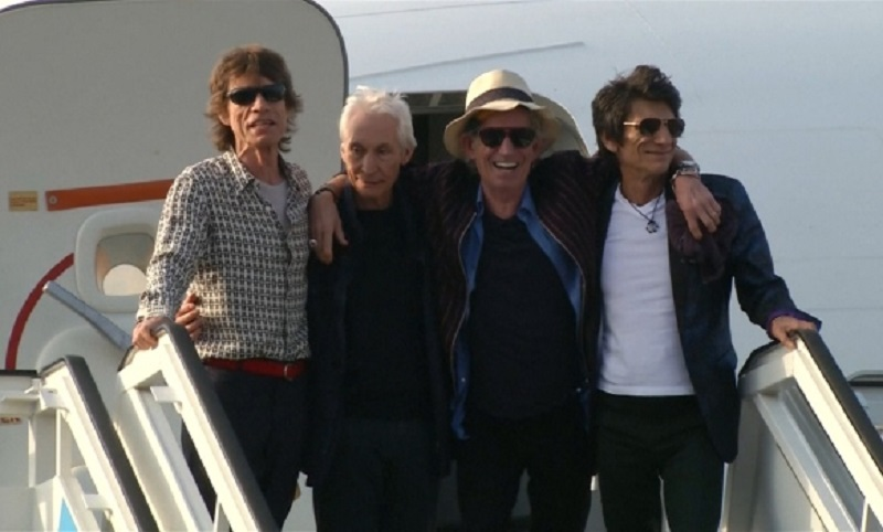 Stonsi stigli na Kubu, očekuje se 500.000 ljudi na koncertu
