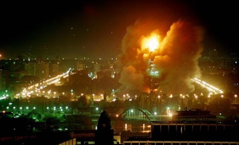 Zakazani protesti protiv NATO bombardovanja Srbije