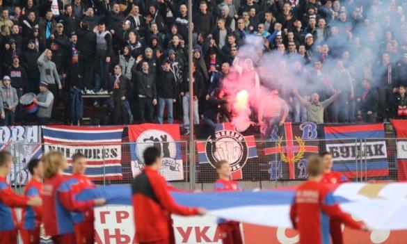 Borac i Partizan, krajem marta na Gradskom stadionu
