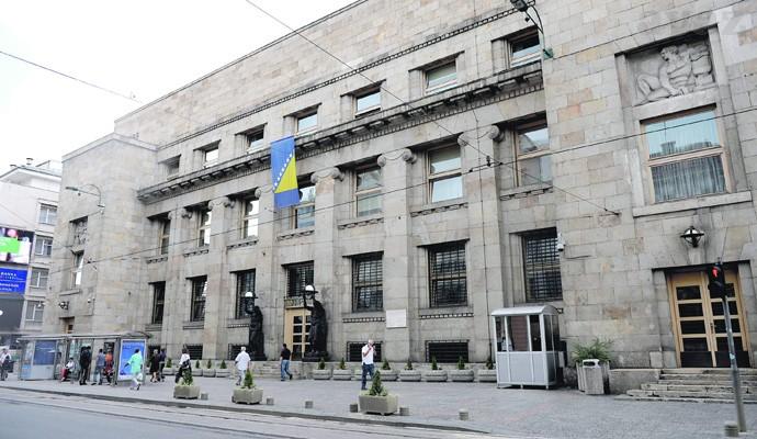 Sarajevo: Službenik zaključao vrata Centralne banke