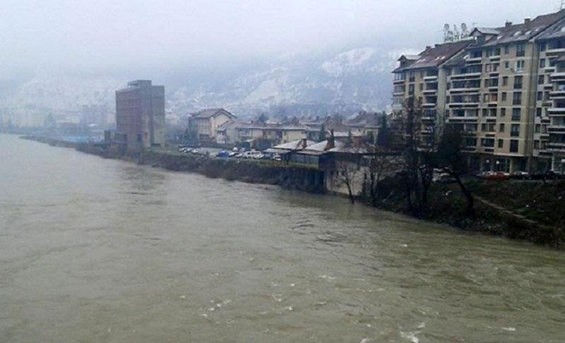 Sava stagnira, Drina u porastu