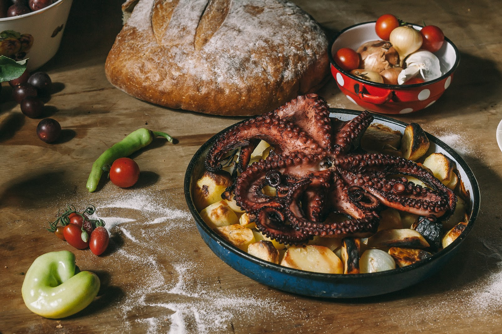 Hobotnica na srpski način
