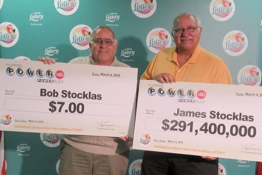 Braća dobila na lutriji: James dobio 291 milion, a Bob samo sedam dolara
