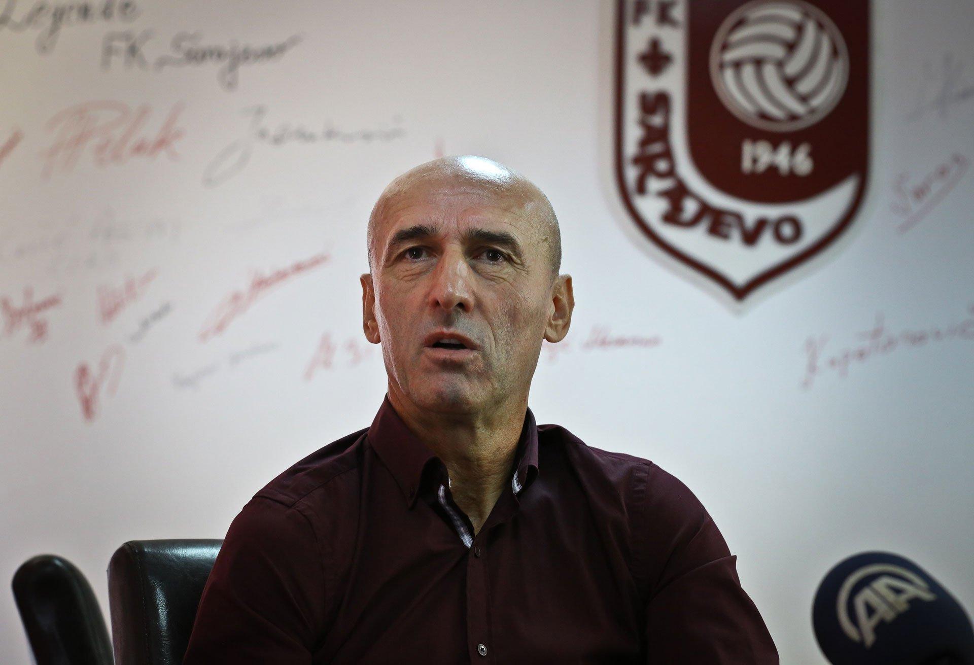 Ješić više nije trener Sarajeva