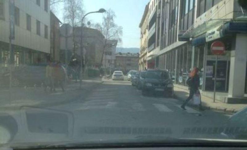 Banja Luka: Policija kroz jednosmjernu u pogrešnom pravcu