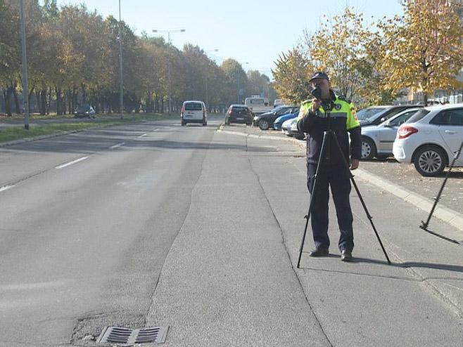 Banjaluka: Od danas kontrola brzine bez zaustavljanja vozača