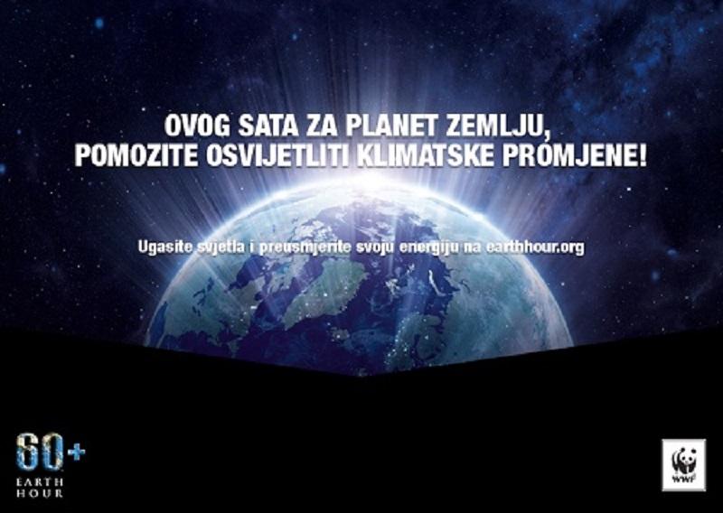 """Banja Luka: Osmu godinu u akciji """"Sat za planetu Zemlju"""""""