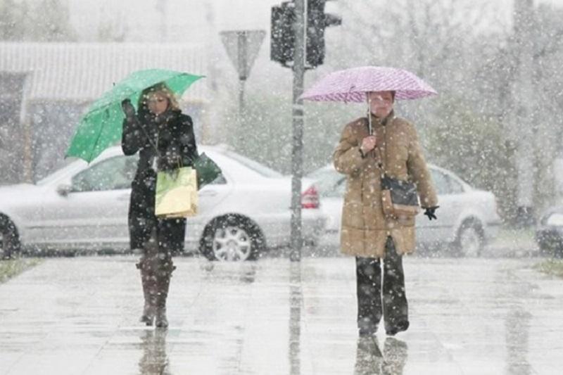 Kiša, na planinama snijeg, u Hercegovini pljuskovi, temperatura do 14