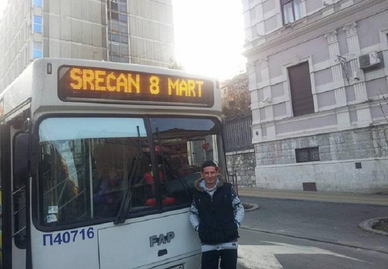 Ovaj vozač autobusa je pobjedik 8. marta