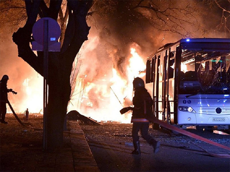 Eksplozija u glavnom gradu Turske, više desetina ljudi poginulo