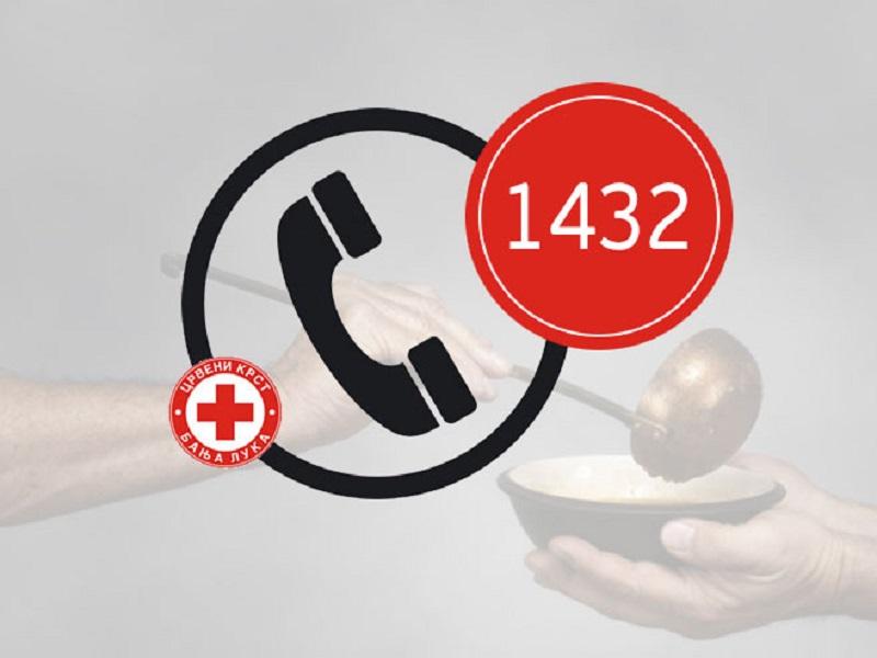 Humanitarni broj 1432 za pomoć javnoj kuhinji u Banjaluci