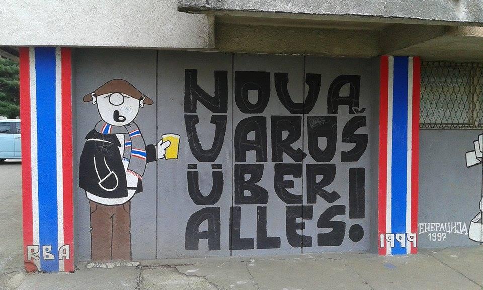Crveno-plava Nova Varoš (FOTO)