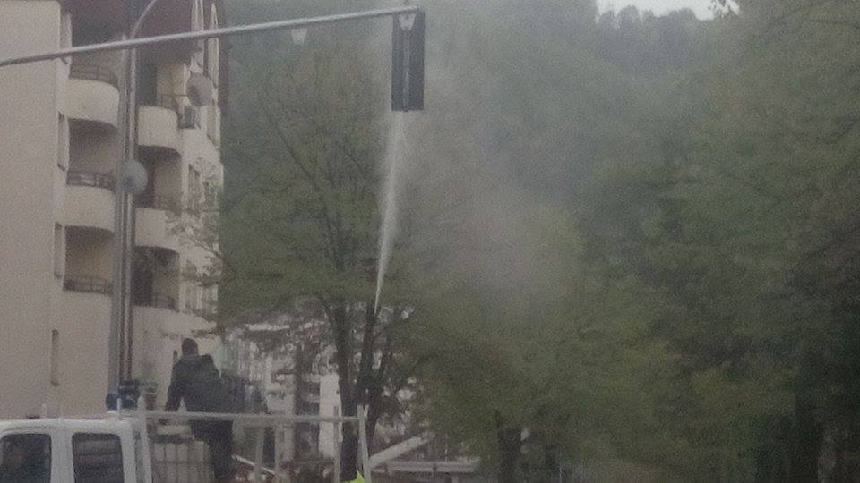 Banja Luka: I semafore peru, zar ne? (FOTO)