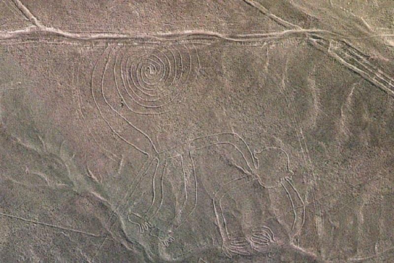 Peru: Otkriven ogroman drevni crtež