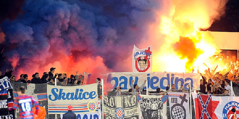 Navijači Hajduka vrijeđali Srbe