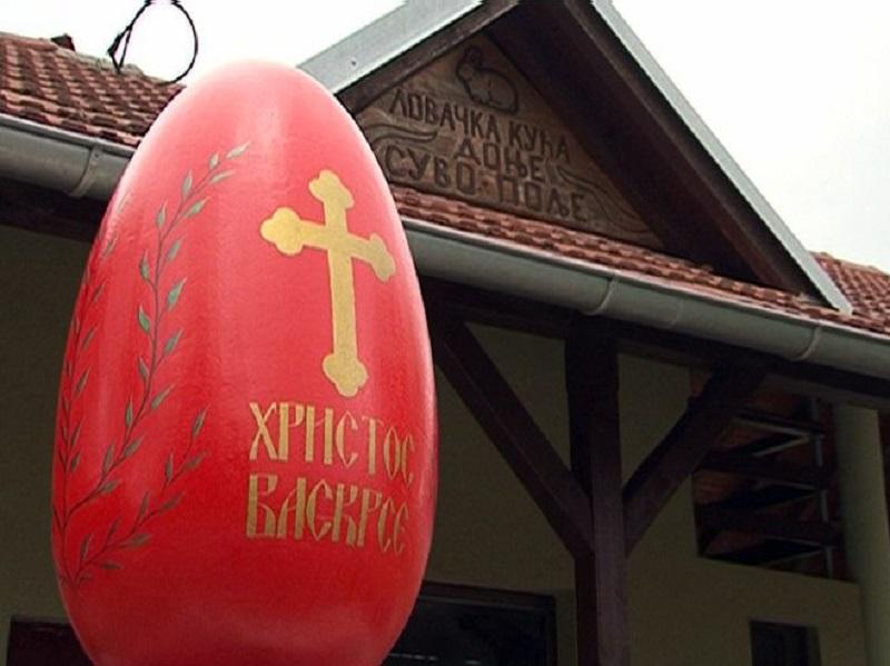 Podigli spomenik vaskršnjem jajetu