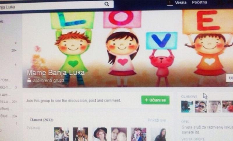 """Fejsbuk grupa """"Mame Banjaluke"""": Uvijek tu jedna za drugu"""
