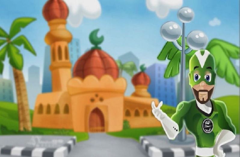 Musli Man, super-heroj iz crtanog filma