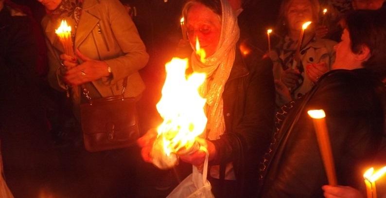 Blagodatni oganj iz Jerusalima stiže i u Banjaluku