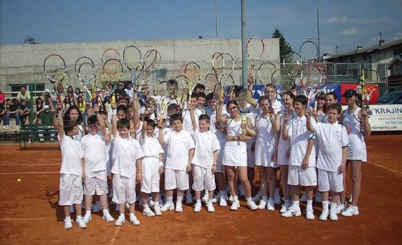 Besplatna škola tenisa u TK Borac