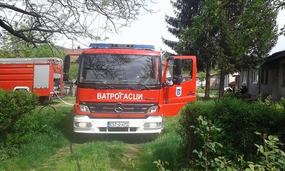 Banjaluka: Požar u porodičnoj kući u Budžaku