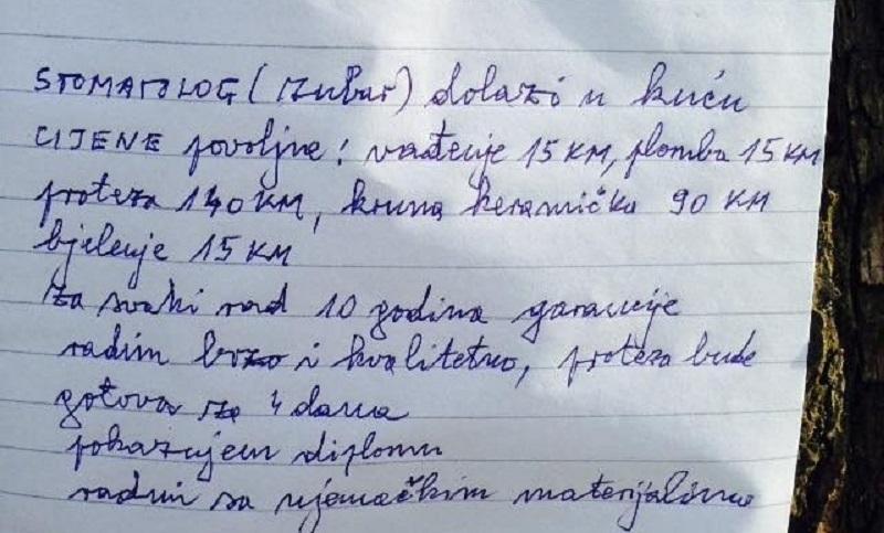 Banjaluka: Popravlja zube na kućnom pragu za samo 15 KM