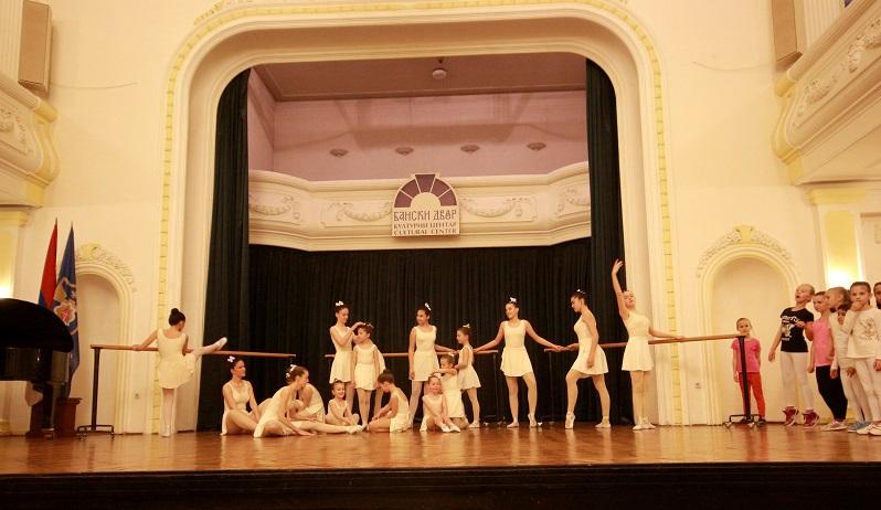 Baletski performans u Narodnom pozorištu RS, nedjelja 29. maj