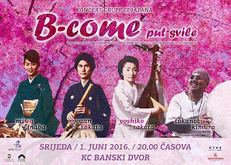 Banja Luka: Koncert muzičara iz Japana u čast Jadranke Stojaković