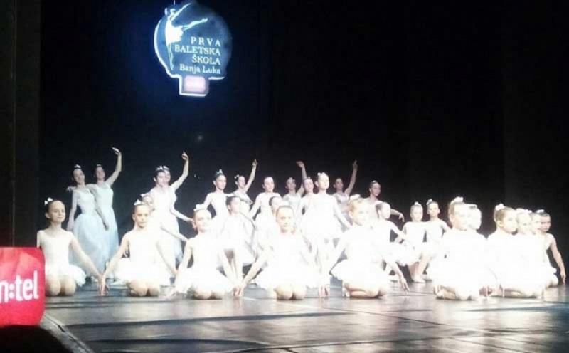 Prva baletska škola iz Banjaluke održala Godišnji koncert