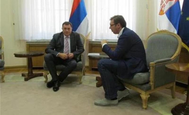 Nakon Ivanića, Vučić se sastao i sa Dodikom