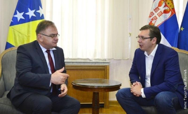 Ivanić poručio Vučiću: Srbi u BiH se ponovo osjećaju usamljeni