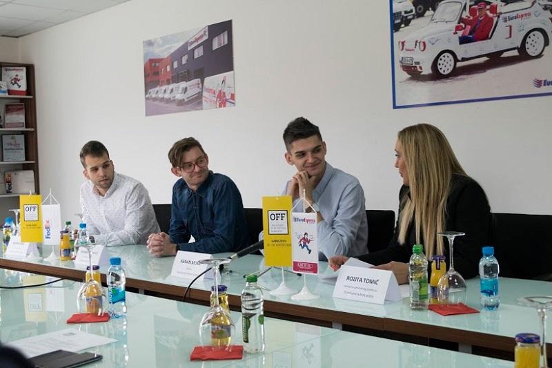 EuroExpress brza pošta generalni pokrovitelj Omladinskog Film Festivala Sarajevo