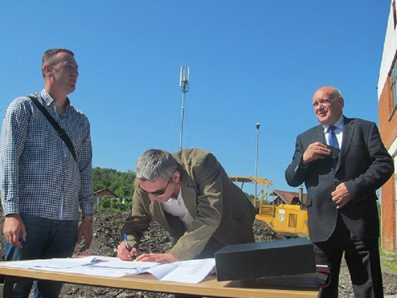 Počela izgradnja infrastrukture u Poslovnoj zoni Ramići