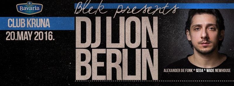 DJ LION u klubu Kruna