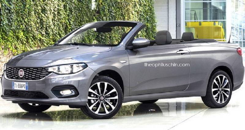 Ovako bi mogao da izgleda Fiat Tipo Cabrio