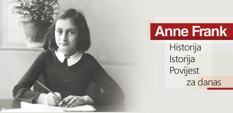 """Izložba """"Anne Frank – Historija, Istorija, Povijest za danas"""" u Banja Luci"""