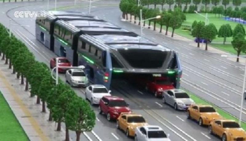 Pogledajte kineski autobus budućnosti (VIDEO)